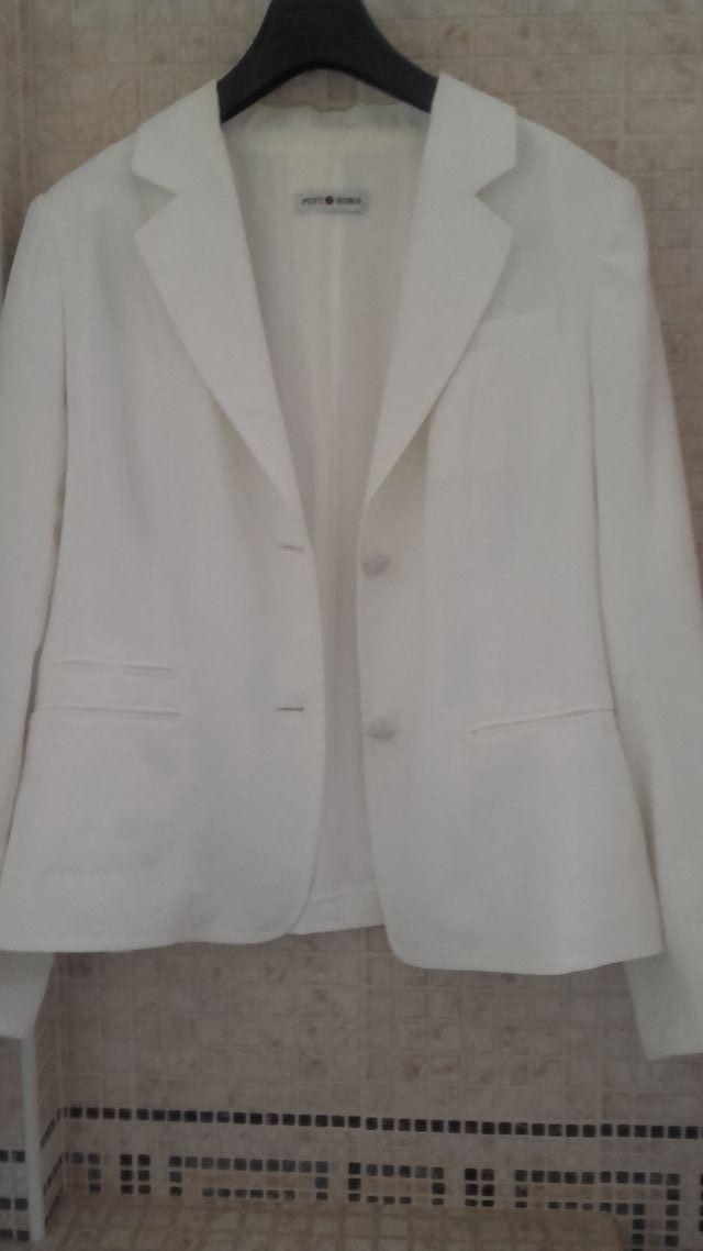 Punto Roma - Blazer mujer color blanco