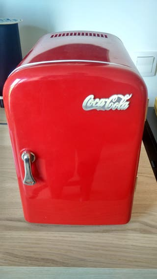 Nevera portatil Coca Cola vintage