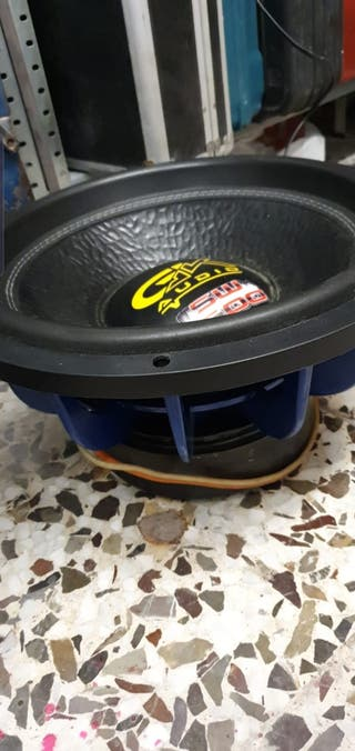 "subwoofer 15"" GK AUDIO"
