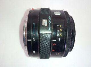 Objetivo Minolta AF Macro 35-70mm F4