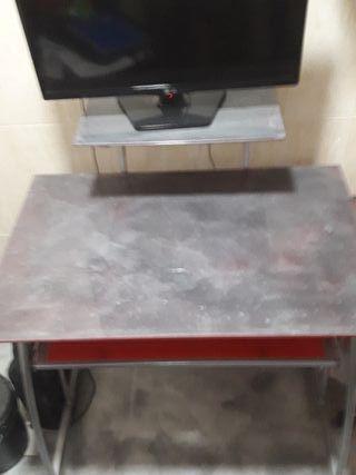 Mesa escritorio decoración epoxi