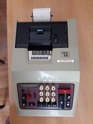 Calculadora antigua Olivetti
