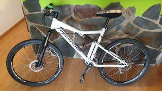 Bici doble suspensión Rockrider