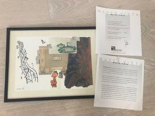 Collage de Mayte Vieta con marco incluido