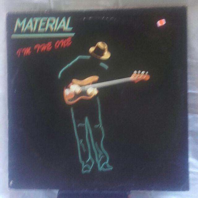 maxi single vinilo de Material - i'm the one