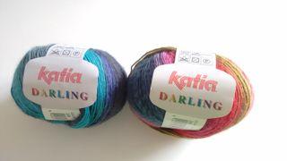 Ovillo lana colores katia darling