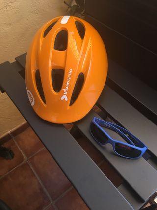 a3566e71a8 Casco bicicleta con gafas de segunda mano en la provincia de Madrid ...