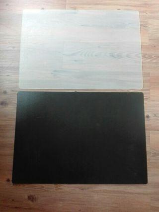 Dos protectores de escritorio ikea 2x1