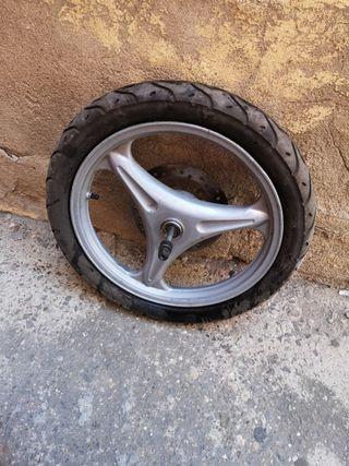 rueda escooter