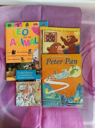 lote 4 cuentos niño