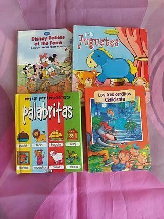 lote 4 cuentos niños