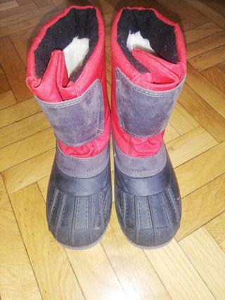 botas d nieve infantiles