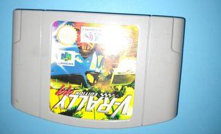 juego Nintendo 64 Vintage VRally edición 44