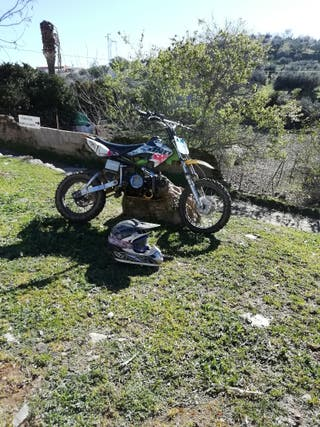 pitbike cross 125cc 4t