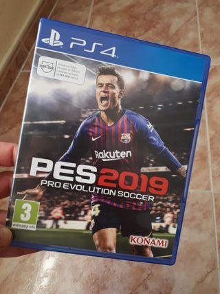 PES 2019 para PS4