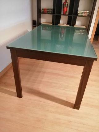 mesa sin cristal