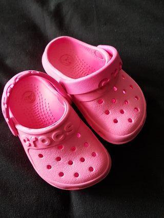 crocs c5 rosa
