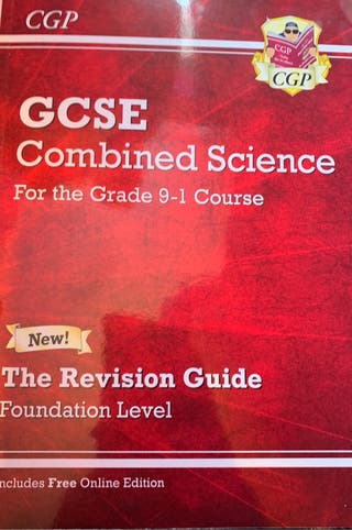 GCSE combined science foundation level
