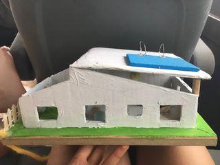 Maqueta casita
