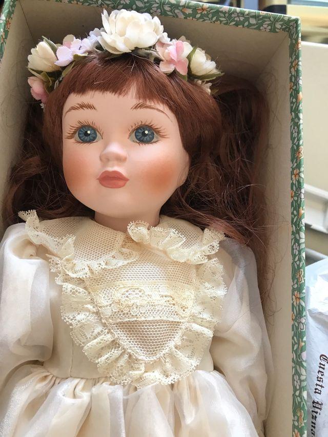Muñeca de porcelana isabel jorge