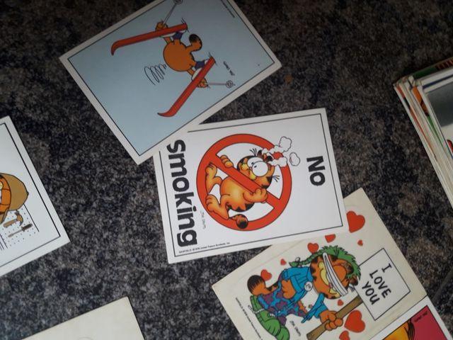 Cromos Vintage Garfield