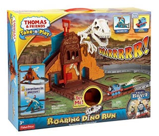Circuito Dinosaurio Thomas Mattel Take and Play