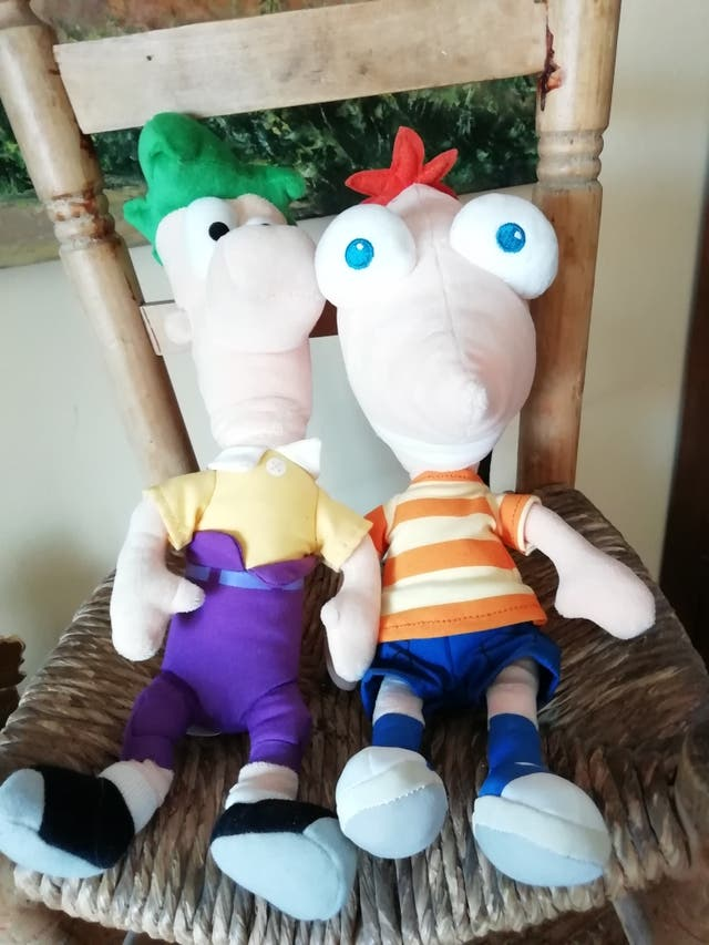 Peluches Phineas & Ferb