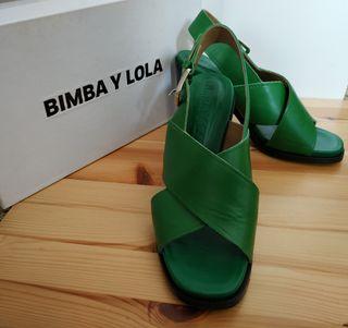 Bimba y Lola sandalias T.36
