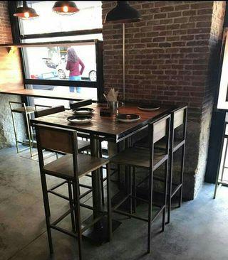 Muebles artesanales para restaurantes
