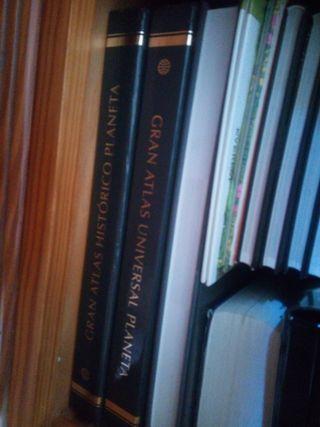 colección atlas y enciclopedias