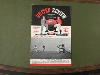 Manchester United v Arsenal 1958-59 season