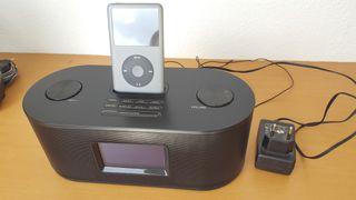 Radio reloj despertador Lauson CP503