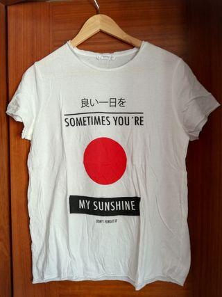 Camiseta Mango T. L
