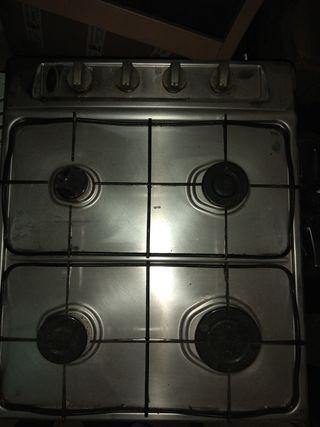 fuego teka a gas cocina
