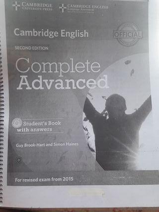 libro de inglés avanzado c1