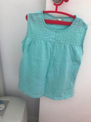 Camiseta Niña Sfera verde