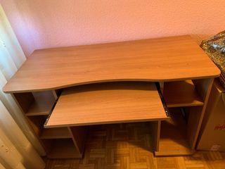 Mesa madera color nogal
