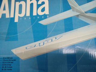 Alpha trainer hangar 9 ARTF avión rc