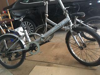 Bicicleta plegable total