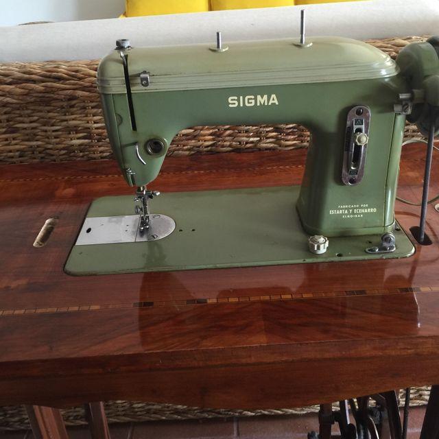 Maquina de coser antigua SIGMA de segunda mano por 95 € en