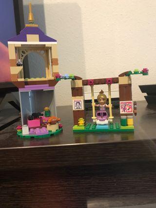 Torre de rapunzel de lego. Juego completo