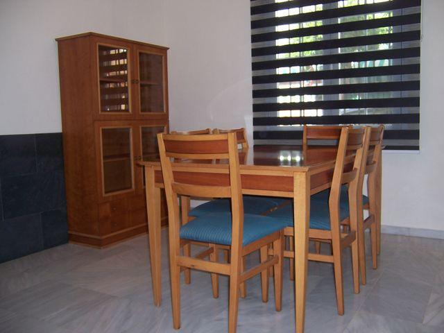 Muebles comedor madera maciza roble de segunda mano por 300 ...