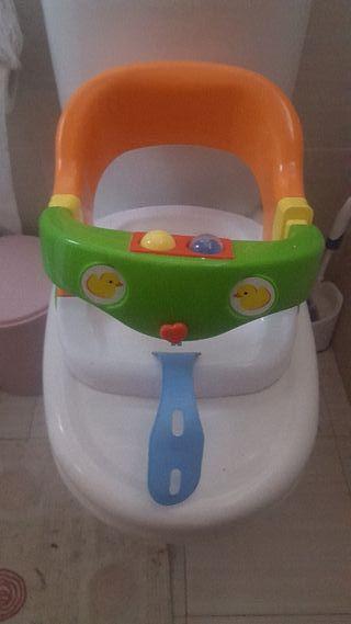 Silla baño bebés