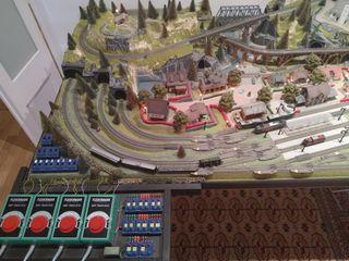 Maqueta de tren Fleischmann