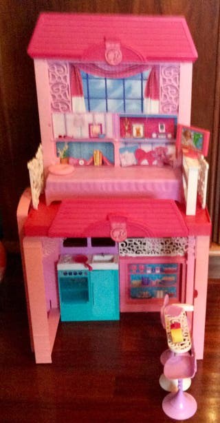 Casa de la playa de Barbie