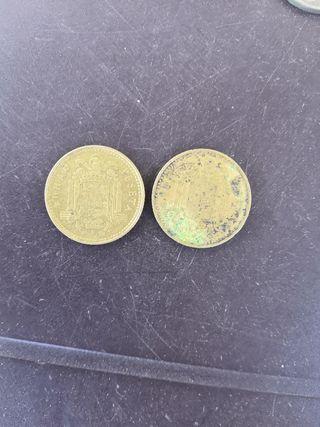 una peseta 1975