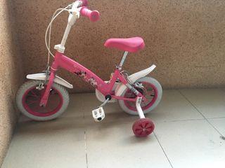 Bicicleta niña de la minnie