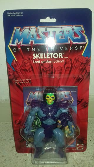 Skeletor Conmemorativo. Media bota