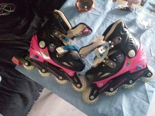 patines de las monster talla 30-33