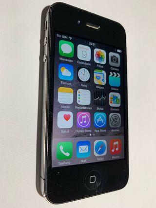 iphone 4s 16GB negro, muy bueno